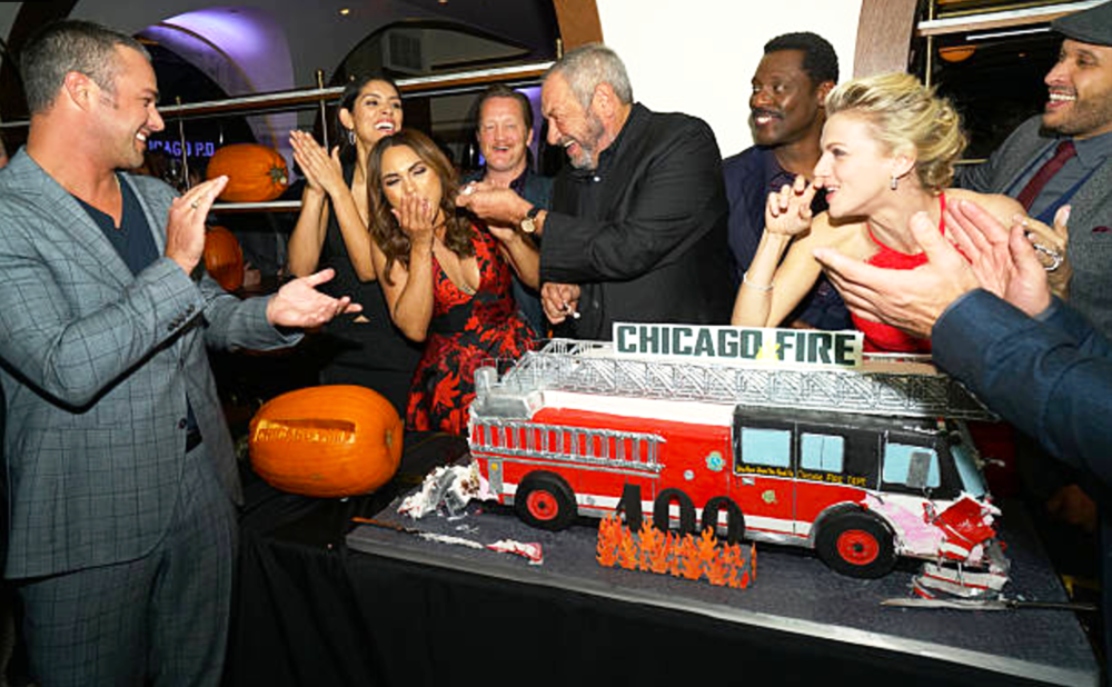 2015 + 2016 NBC Universal #OneChicago Chicago Fire, Chicago PD, Chicago Med, and Chicago Justice Annual Media Event with Creator Dick Wolf
