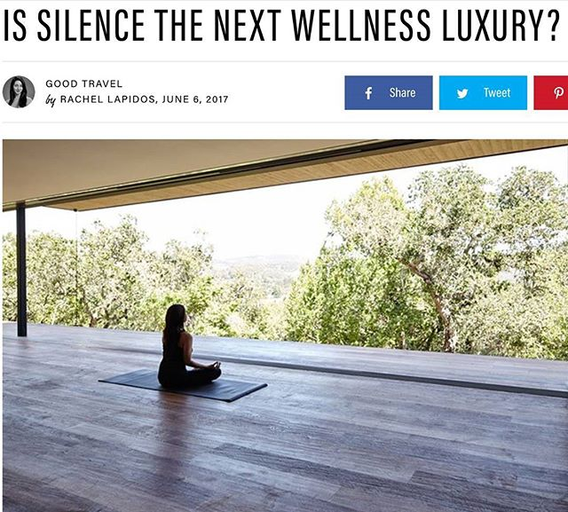 "Interesting article on silent retreats! I know I asked about retreats in general before, but has anyone been on a SILENT one? Any thoughts/RECOMMENDATIONS? Link on blog. ⚡Hope everyone had a great weekend! ⚡A little section from the article: ⚡'Engaging in stillness for any significant length of time can be a de-stresser, according to McGroarty. ""Studies have shown that when the brain is silent, your hippocampus—the center for organizing thoughts—actively creates neurons,"" she says. ""Your cortisol also drops, as well as your heart rate and blood pressure. There's a mental and a physical impact."" Compare this to when you're staring at your phone or computer screen and your cortisol shoots up with every (disconcerting) news flash.'"
