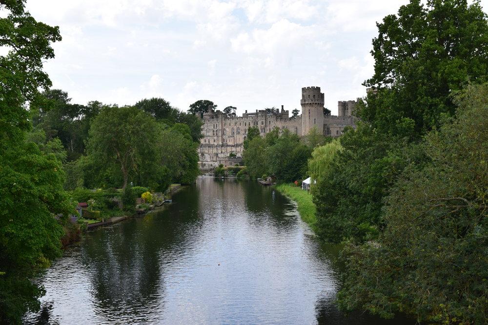 River Avon and Warwick Castle