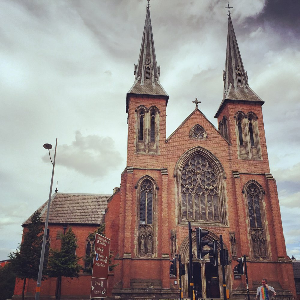 Found a church! St. Chad's Cathedral