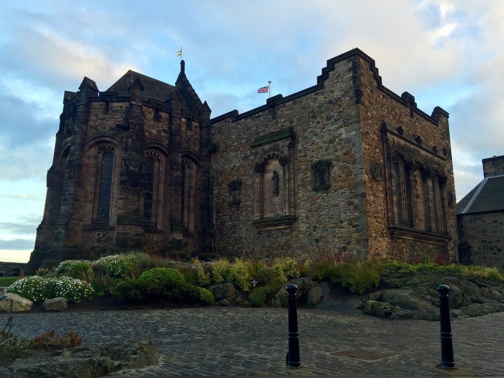 St. Margaret's Chapel - Edinburgh Castle