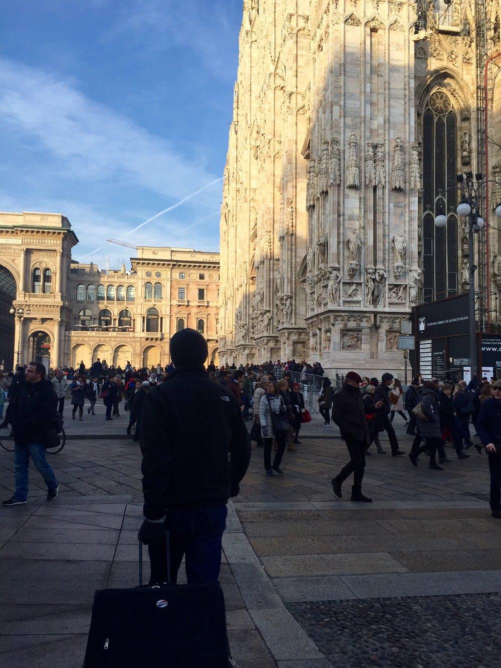 milan cathedral square