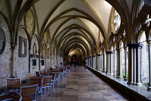 Salisbury Cathedral Hallway