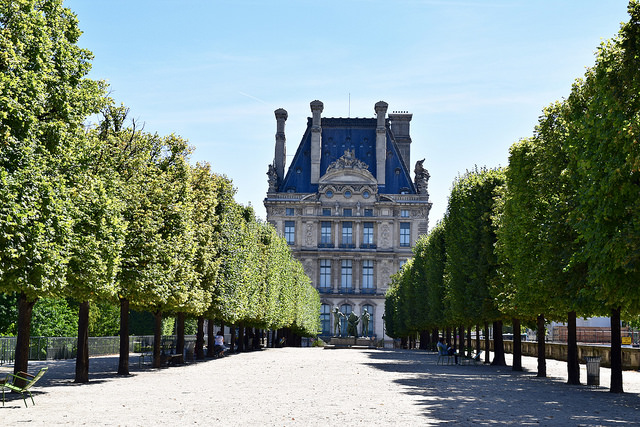 Louvre and Jardin des Tuileries