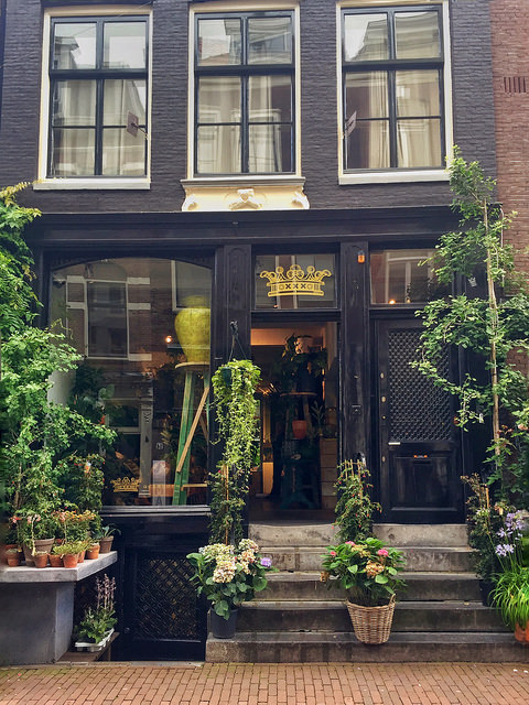 Cute shop in Amsterdam