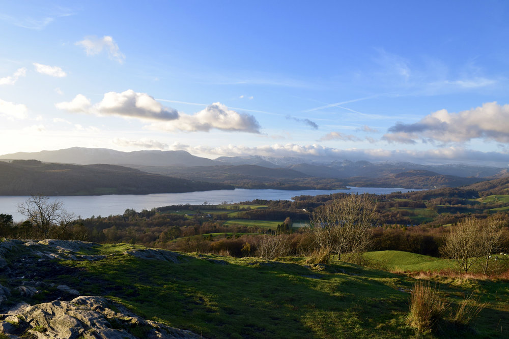 View from Orrest Head over Lake Windermere, Lake District
