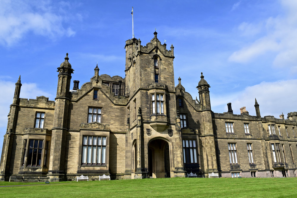 Allerton Castle, Yorkshire, from 1843