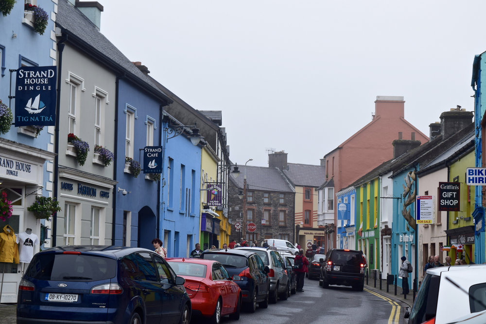 Dingle Ireland Colorful Buildings