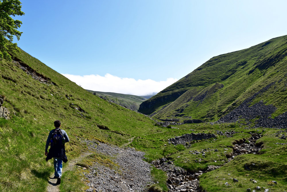 Hiking the Great Whernside Trail