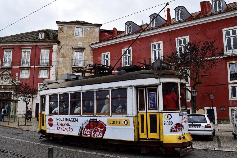 Historic Lisbon Tram