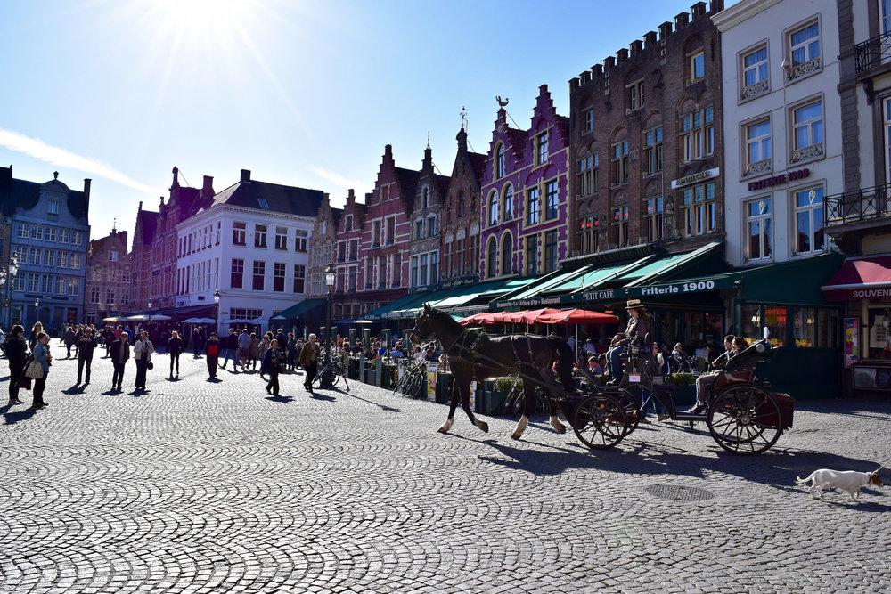 The Markt, Center of Bruges