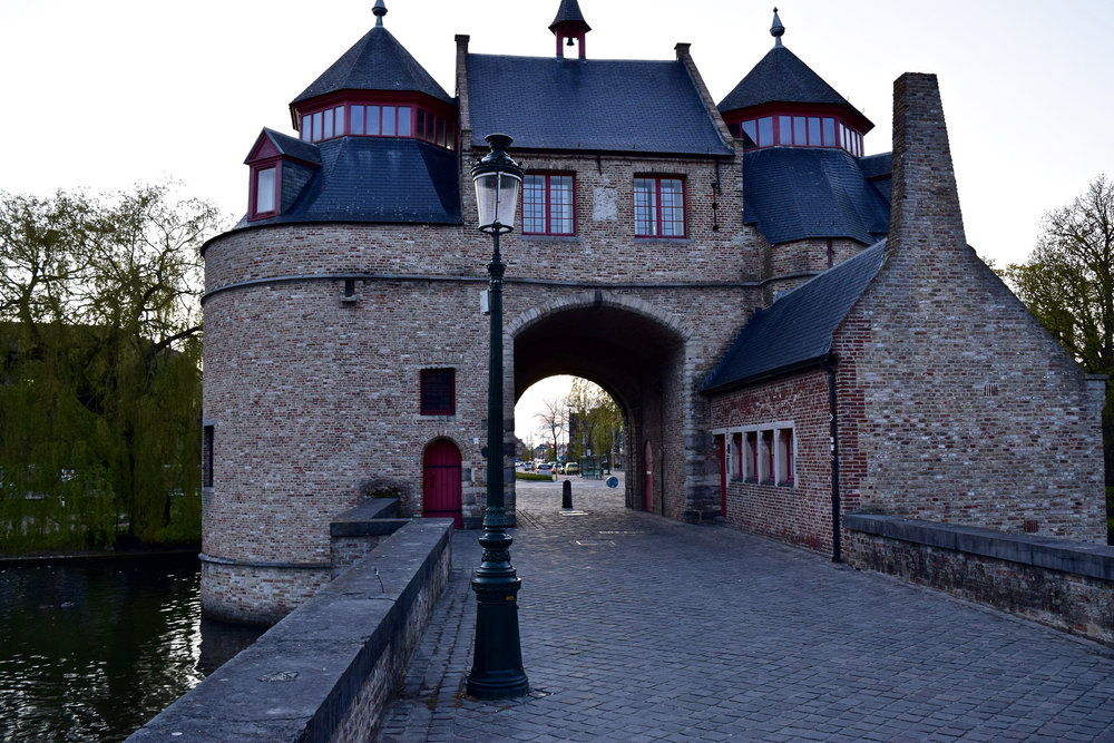 Ezelpoort Gate & Bridge