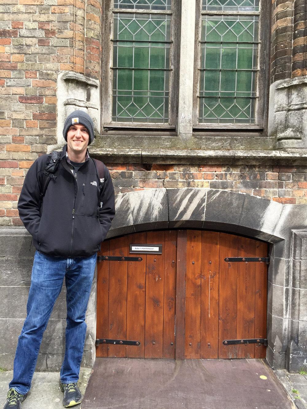 Tiny Door into 't Poatersgat