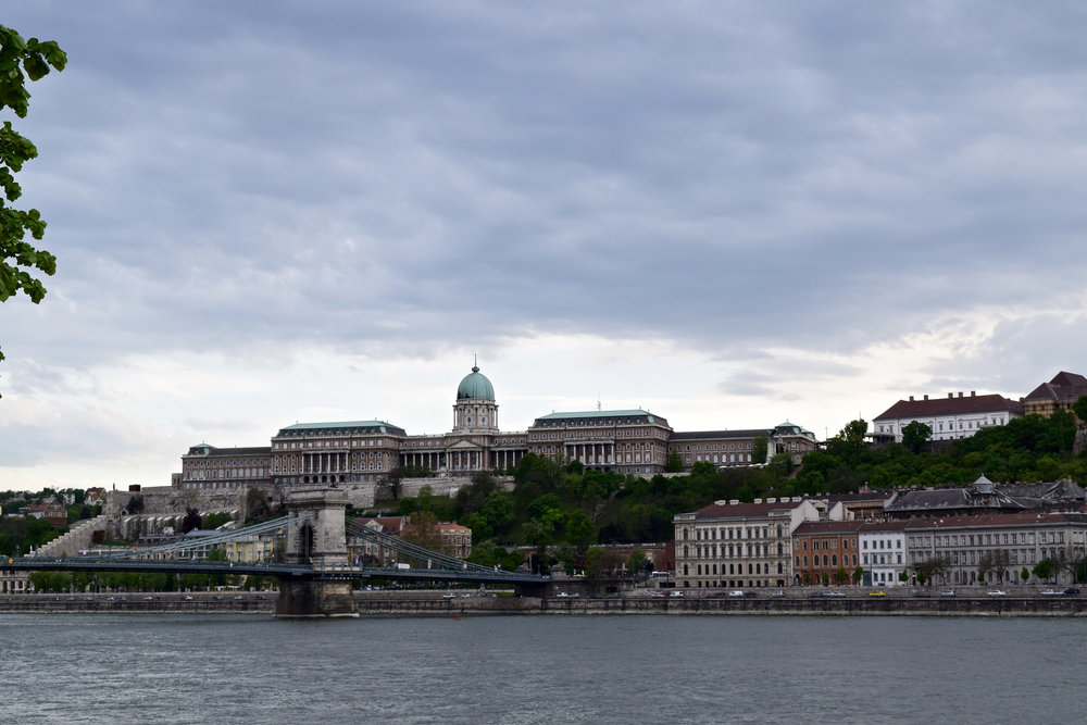 Buda Castle and the Széchenyi Chain Bridge