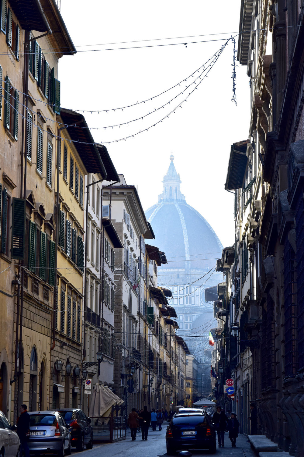 Brunelleschi's Dome Looms Over the City
