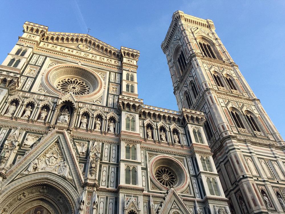 Facade of Santa Maria del Fiore