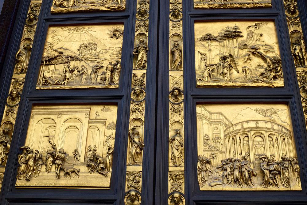 Baptistry Doors by Lorenzo Ghiberti