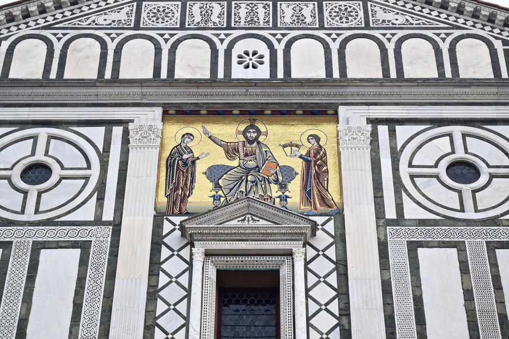 San Miniato's 13th century Mosaic