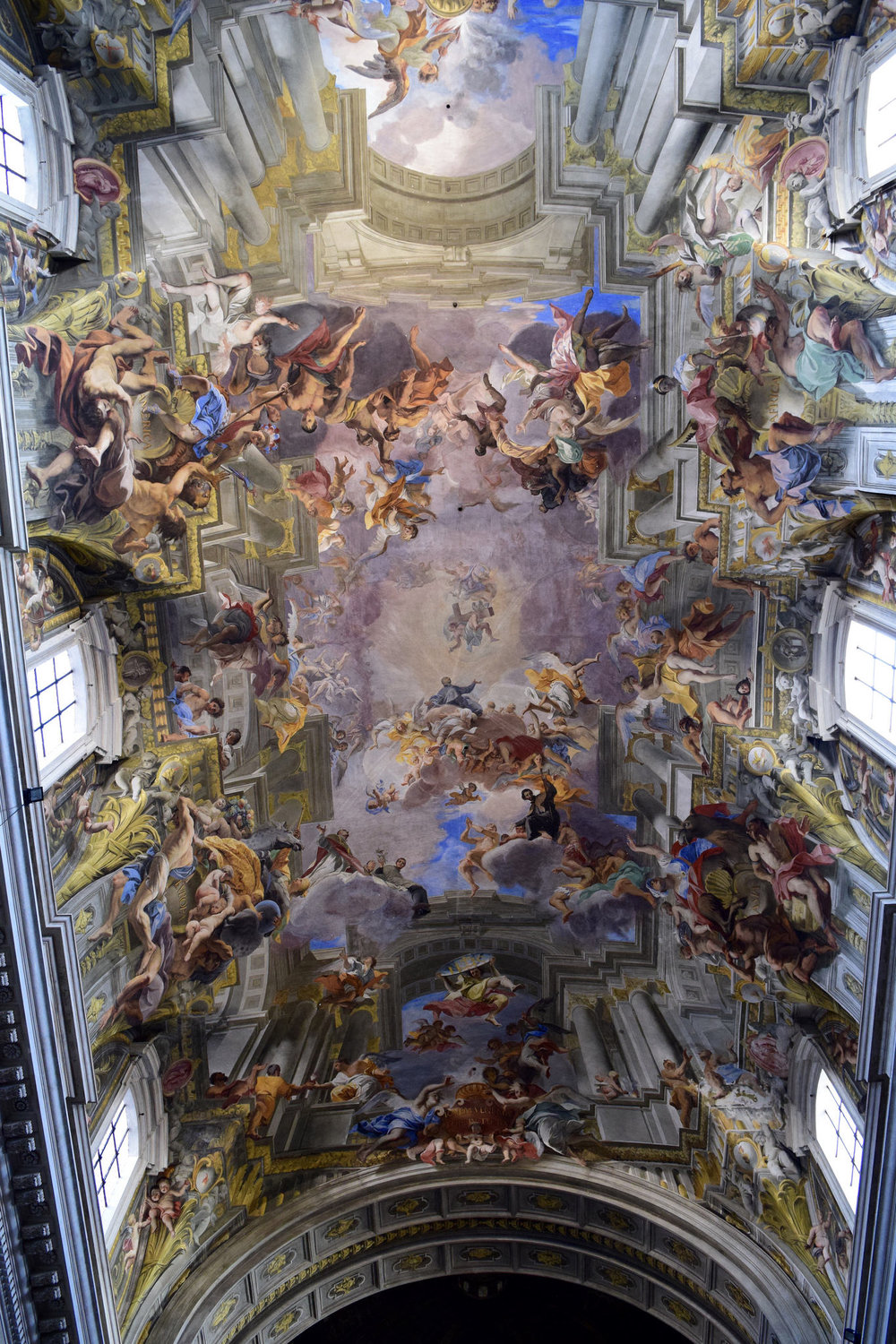 Frescoes by Andrea Pozzo