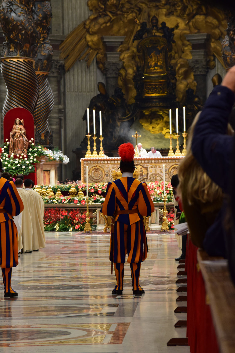 Midnight Mass in St. Peter's Basilica
