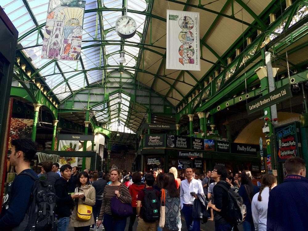 Browsing Borough Market