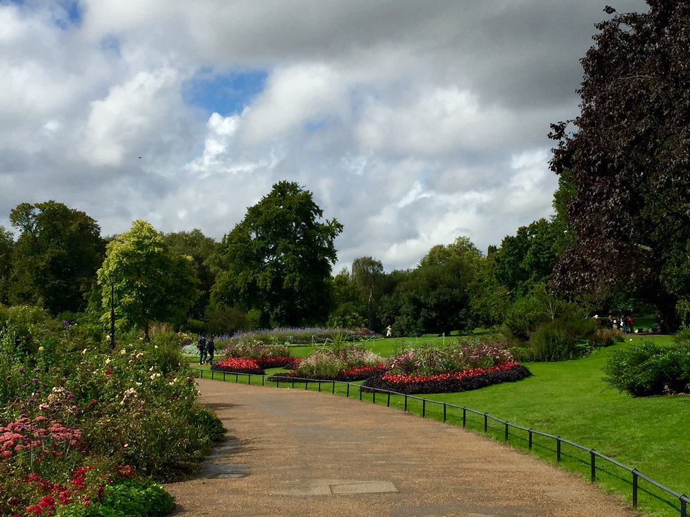 Gorgeous Hyde Park Gardens