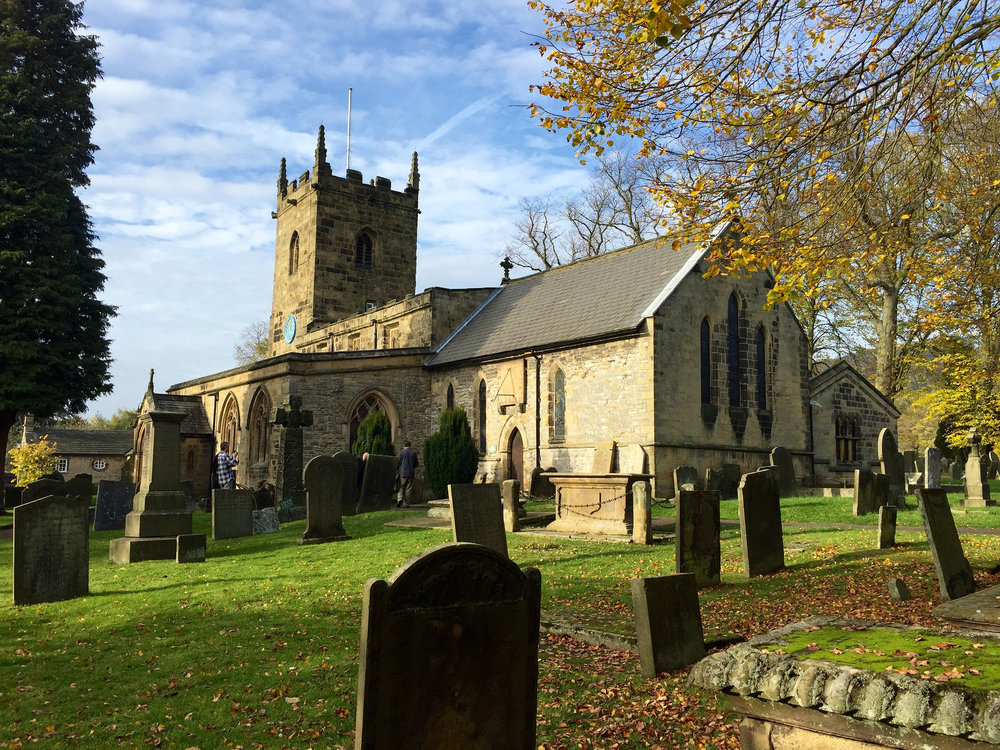 Eyam Church and Graveyard
