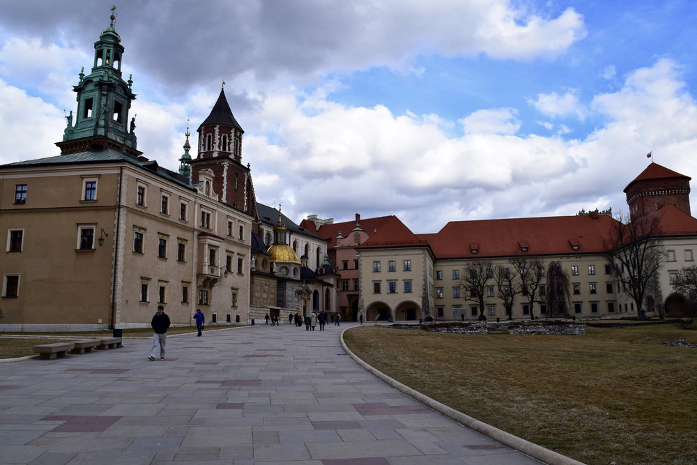 Grounds of Wawel Castle