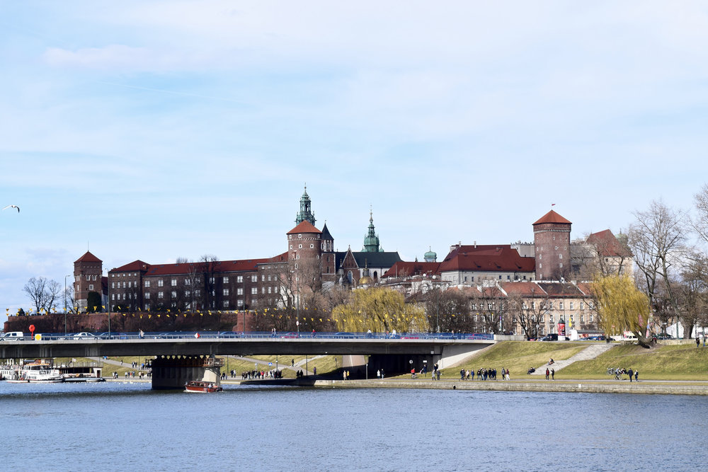 Vistula River and Wawel Castle