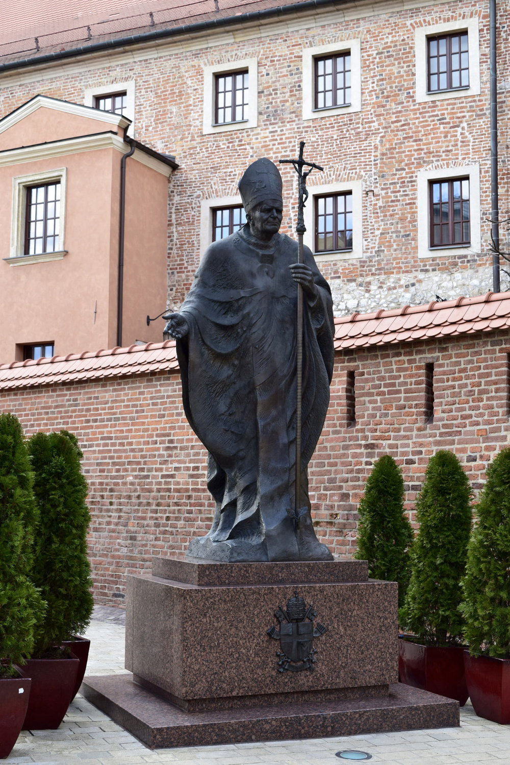 JPII In Wawel castle.jpg