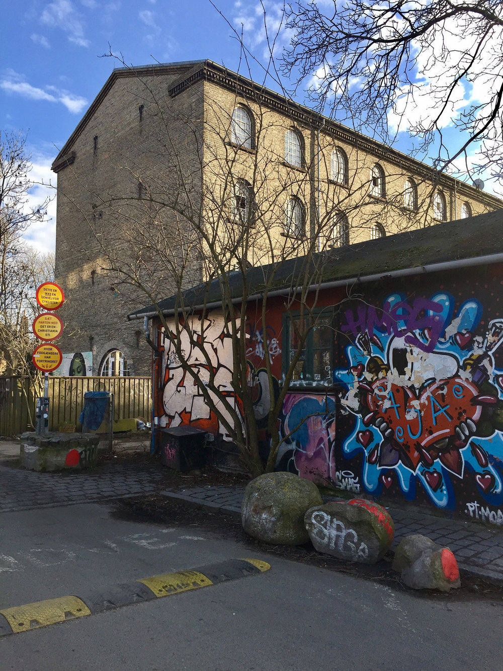 Leaving Christiania