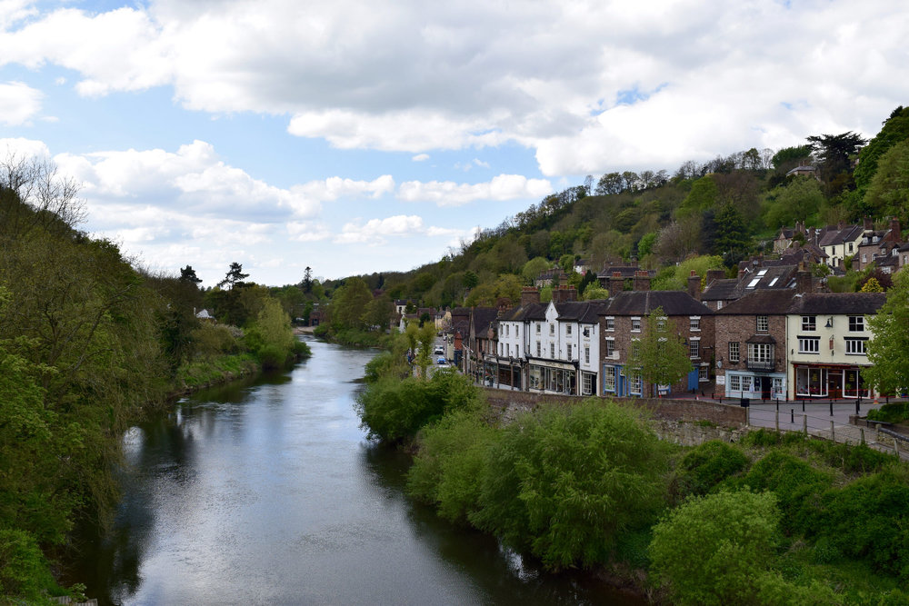 River Severn and the High Street