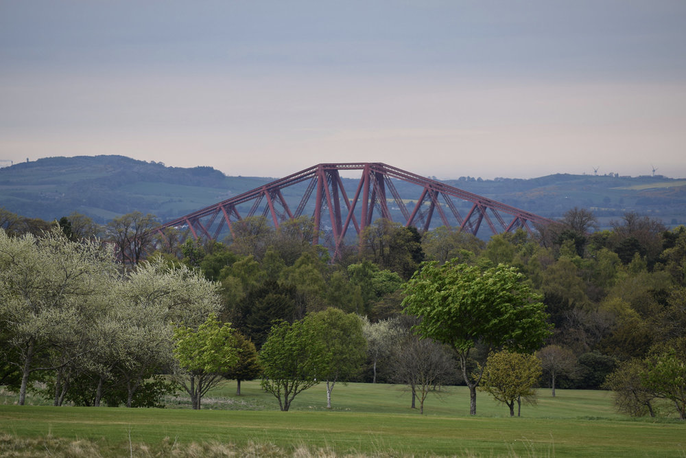 Forth Bridge from Dundas