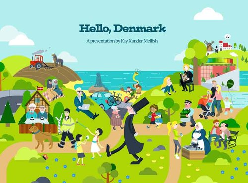 "HELLO, DENMARK : TIPS FOR THE NEWLY ARRIVED - Are you welcoming new students or employees to Denmark? Kay Xander Mellish's presentation ""Welcome to Denmark"" will explain the basics of everyday life in Denmark – everything from the importance of being on time to the meaning of Jantelov to the best way to make Danish friends. The ""Welcome to Denmark"" event is an entertaining, informative introduction to Danish culture that your audience of newcomers will enjoy."