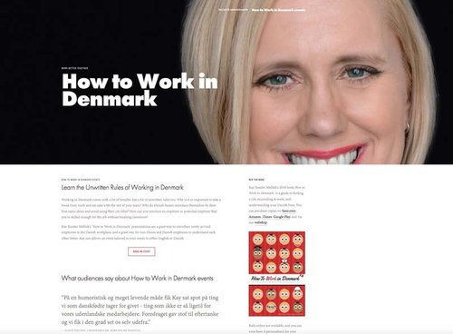 HOW TO WORK IN DENMARK: The UNWRITTEN RULES OF THE DANISH WORKPLACE - Working in Denmark comes with a lot of benefits, but a lot of unwritten rules too.  Kay Xander Mellish's