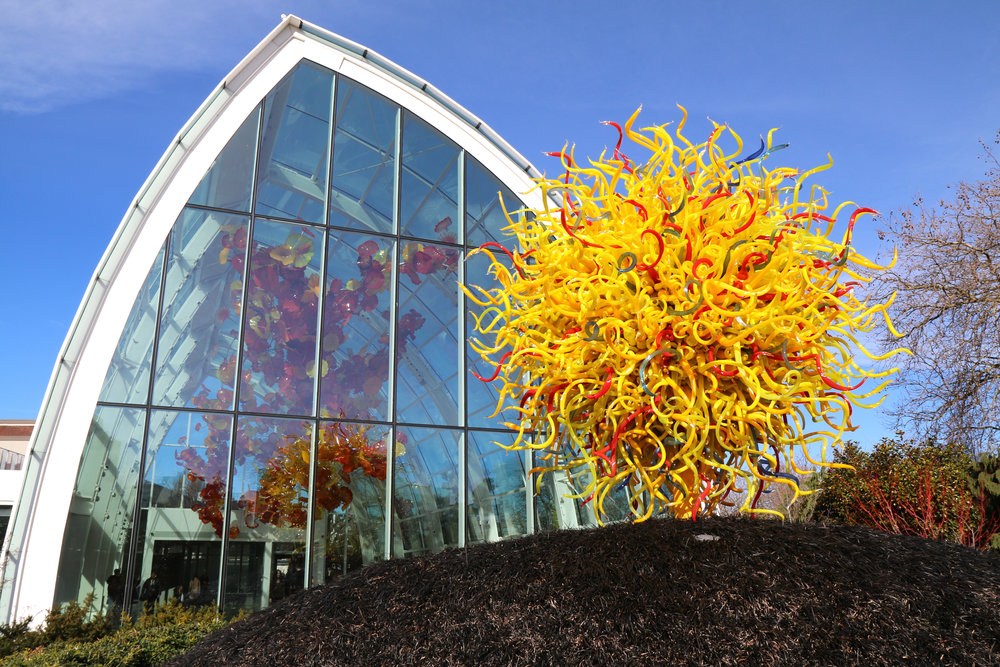 Chihuly Garden and Glass in Seattle, Washington