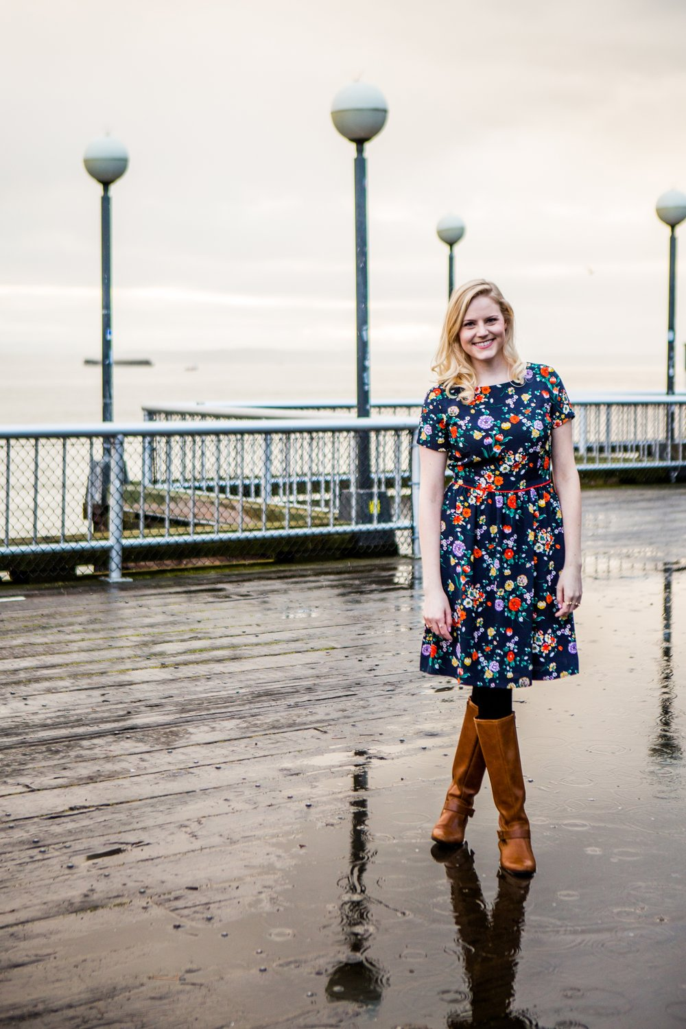 Travel and lifestyle blogger Bri Sul solo traveling around Seattle, Washington. Shot by Jessica with Flytographer, an amazing travel photography service.