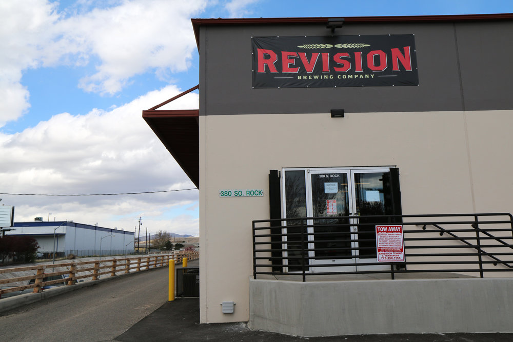 Revision Brewing Company in Reno, Nevada