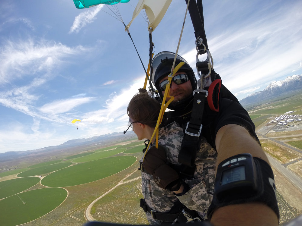 Skydive Lake Tahoe near Minden, Nevada