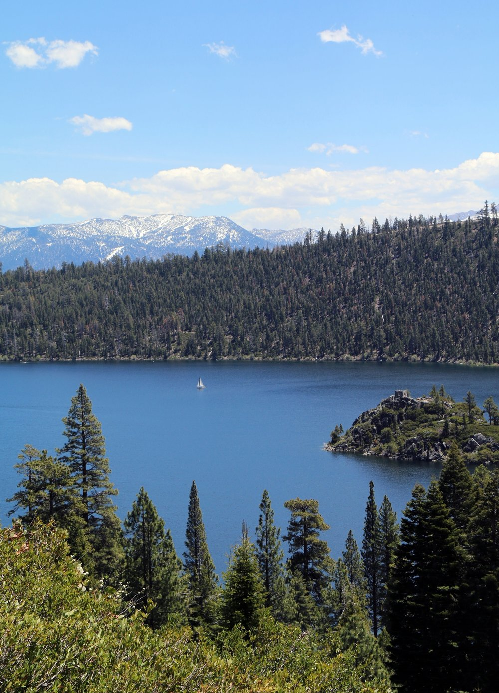 Vikingsholm Trail hike near South Lake Tahoe, California | Tahoe's Hidden Castle