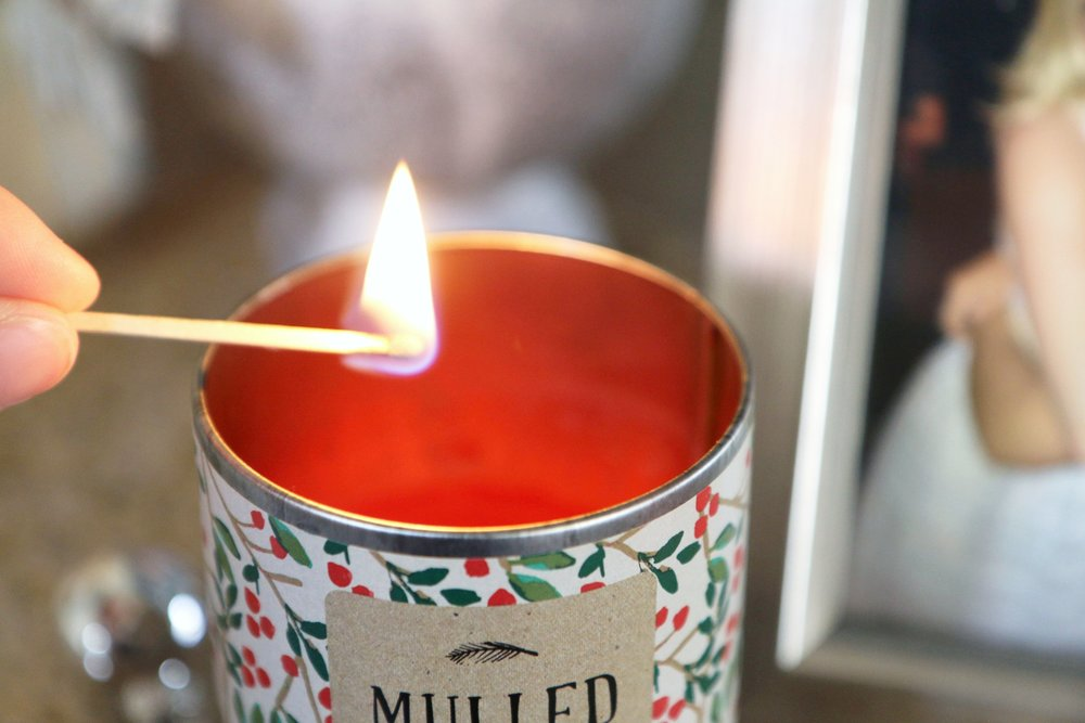 Mulled Cider Christmas Candle from Target