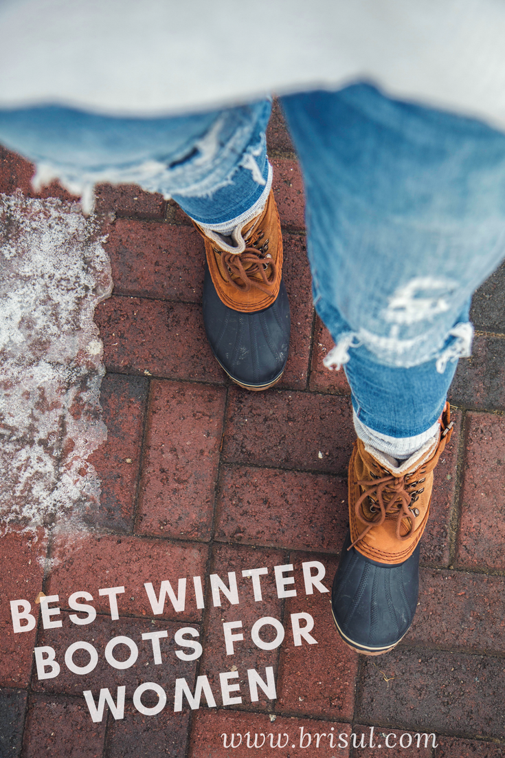 Fashionable and Warm Winter Boots for Women