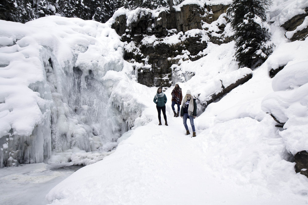 Ousel Falls Trail near Big Sky Montana