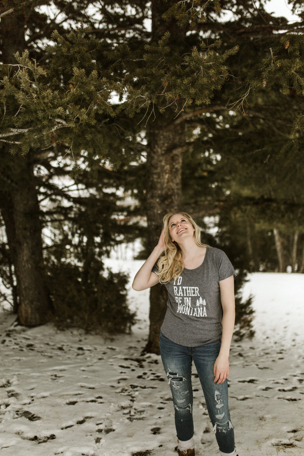 "The Montana Scene ""I'd rather be in Montana"" tee shirt by blogger Bri Sul"