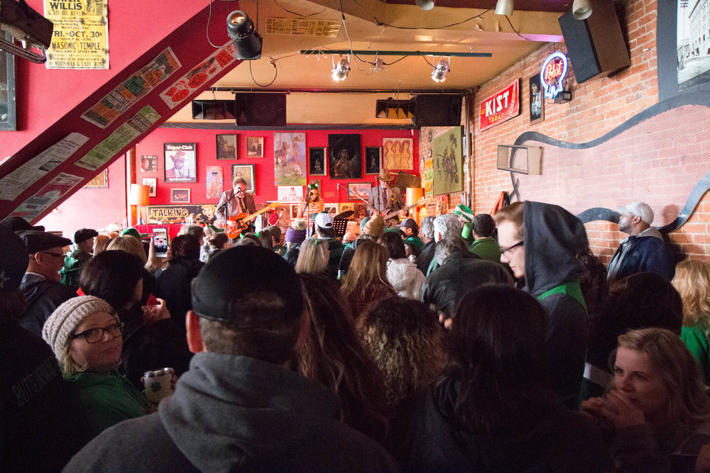 St. Patrick's Day Celebrations in Butte, Montana