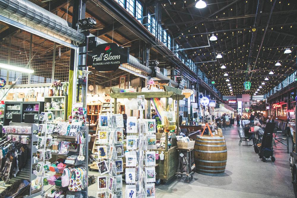 Pybus Public Market in Wentachee, Washington. A MUST visit!