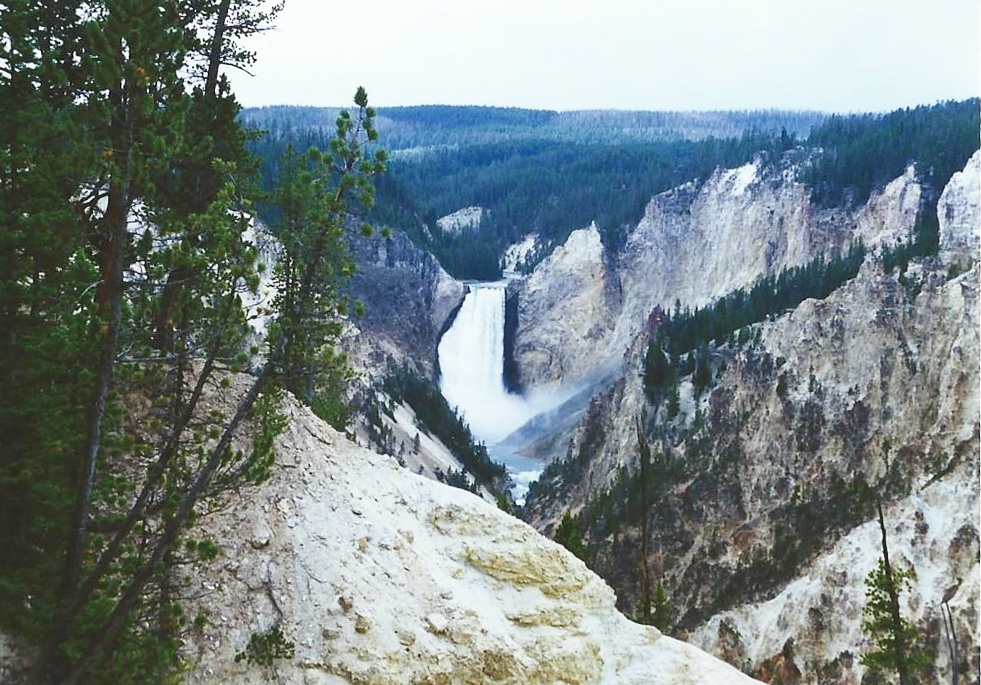 Grand Canyon of Yellowstone River | The Ultimate Travel Guide for Yellowstone National Park by Travel + Lifestyle blogger Bri Sul