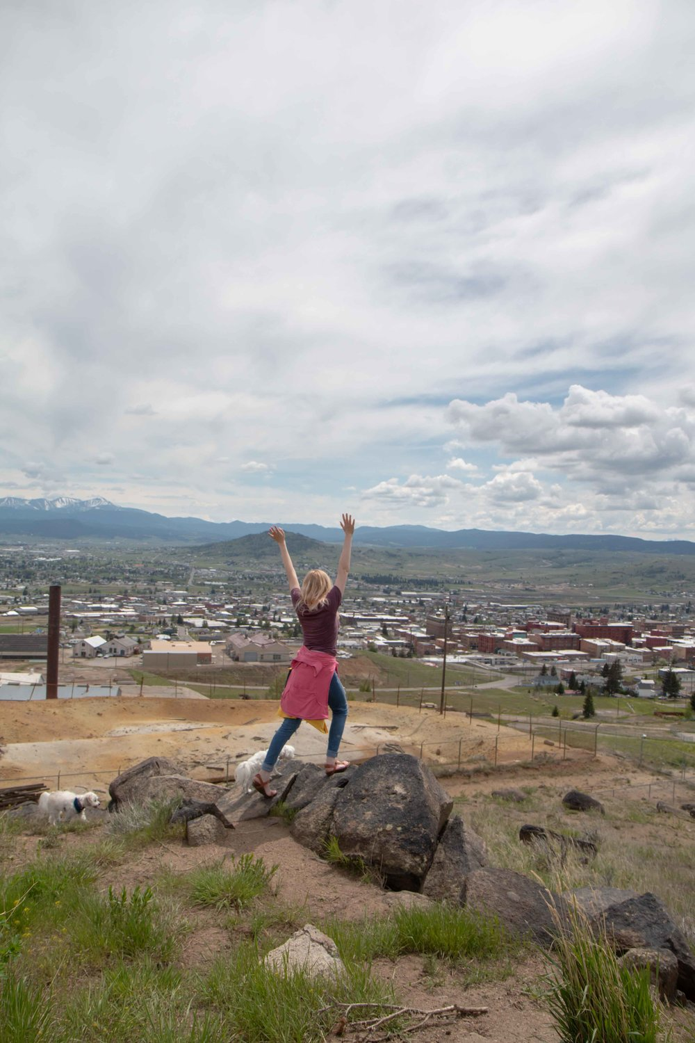 Mountain Con & Foreman's Park in Butte, Montana. An amazing walkway and cool old mine. Great for families and pets.