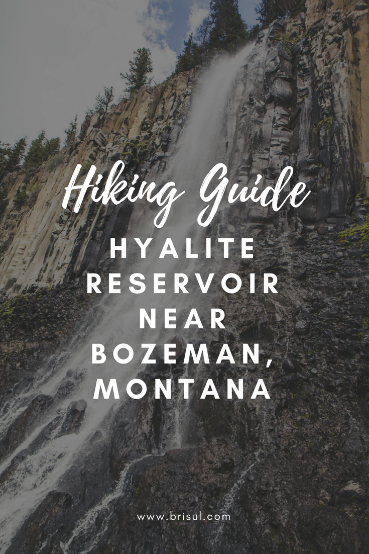 Hiking around Hyalite Reservoir near Bozeman, Montana