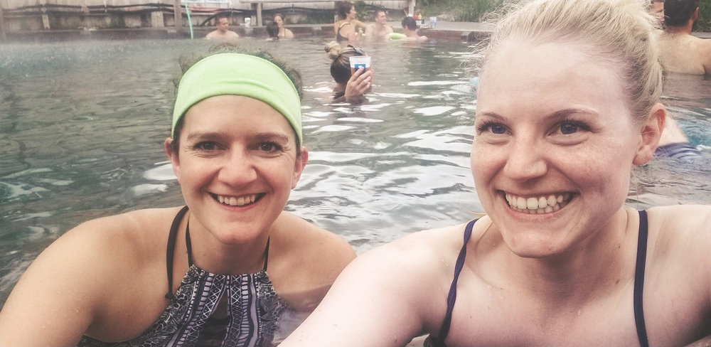 Norris Hot Springs near Bozeman, Montana. Soak in the Water of the Gods. Fresh food, drinks, and live music. Great for couples, families, and friends! A MUST do.